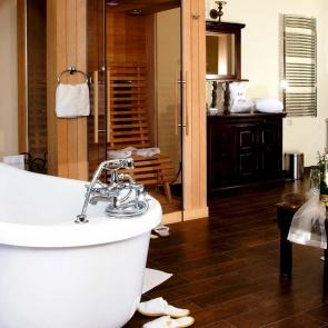 Badezimmer Nostalgie Suite