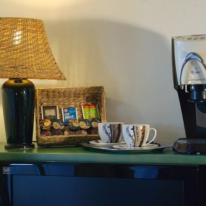 Kaffee- und Tee-Ecke