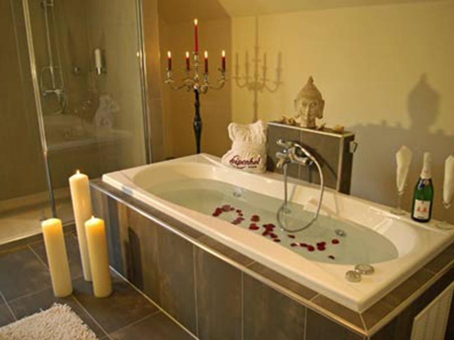 Badezimmer Romantik Suite