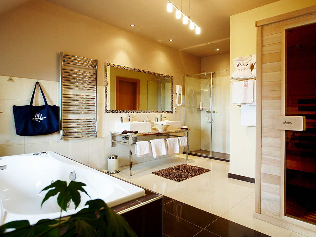 Badezimmer Wellness Suite
